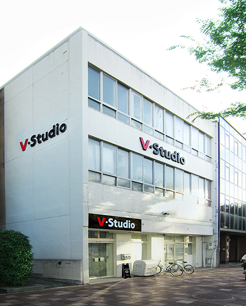 Vスタジオ 建物外観